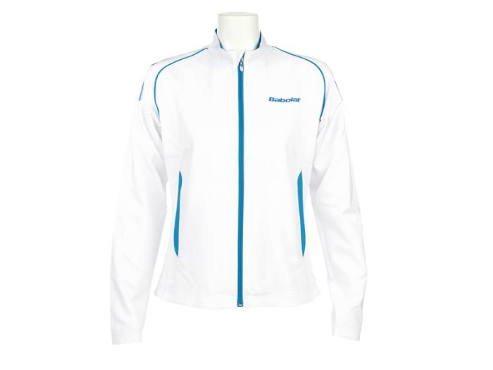 JACKET BABOLAT MATCH CORE GIRL 42S1428 101 BLANC