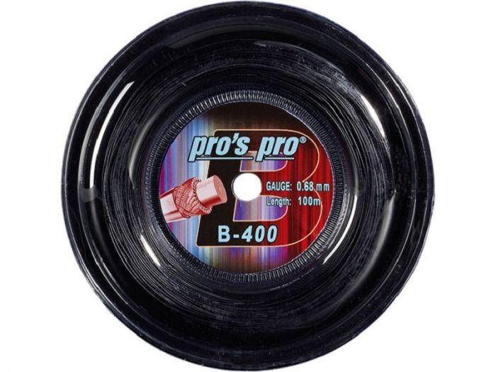 CORDAGE BADMINTON PROS PRO B400 BOBINE 100M