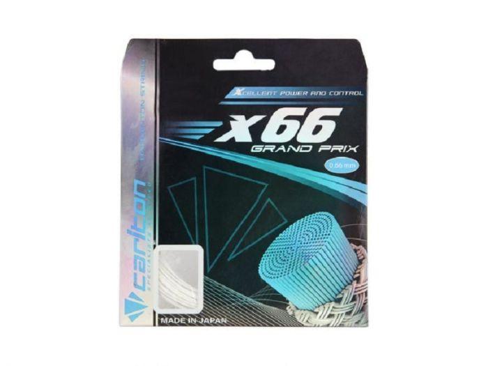CORDAGE BADMINTON CARLTON X66 GRAND PRIX BLANC 200M