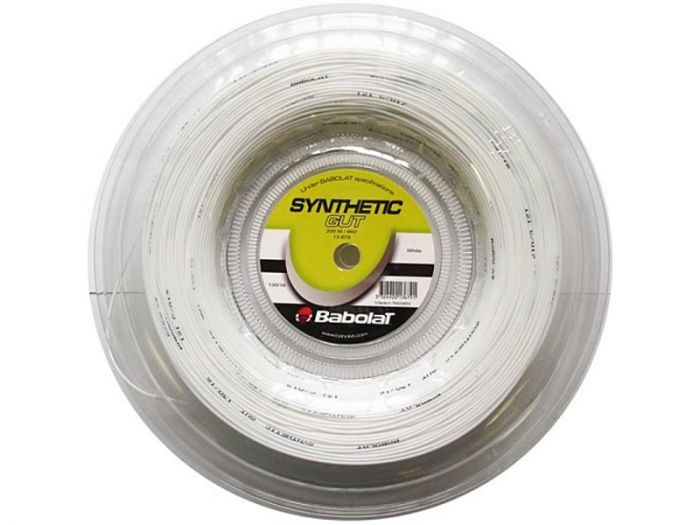 CORDAGE DE TENNIS BABOLAT SYNTHETIC GUT BOBINE 200M