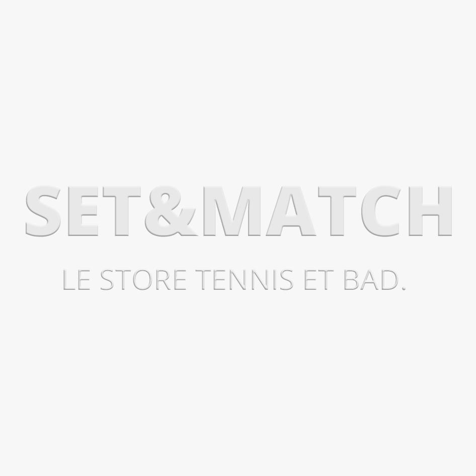 BABOLAT V-Pro Chaussures de Tennis Tout Court pour Femme, Blanc/Bleu, 39