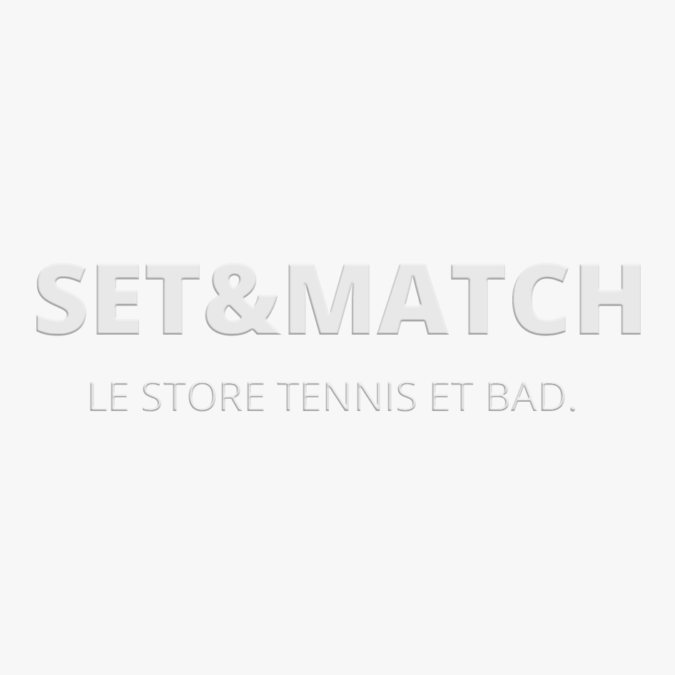 RAQUETTE DE BADMINTON  BABOLAT JUNIOR II  STRUNG WHITE / RED