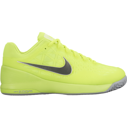 CHAUSSURES FEMME WMNS NIKE ZOOM CAGE 2 705260 710 JAUNE