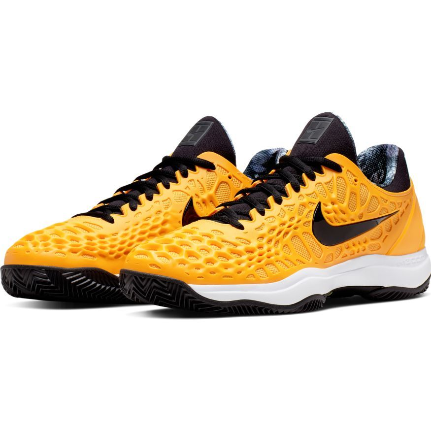 CHAUSSURES DE TENNIS HOMME NIKE ZOOM CAGE 3 CLAY 918192 700 ORANGE ...