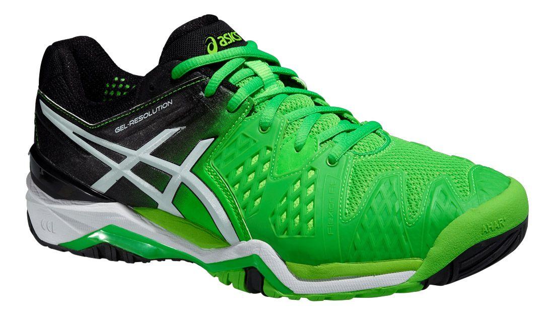 asics chaussures hommes tennis vert