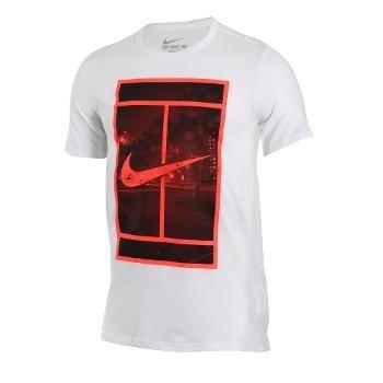 tee shirt nike homme orange