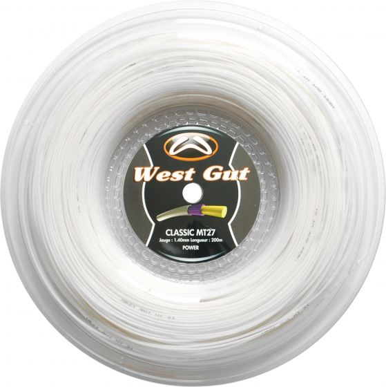 CORDAGE DE TENNIS WEST GUT MT27 BOBINE 200M