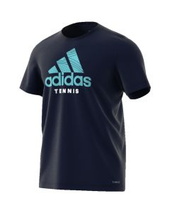 TEE SHIRT HOMMEADIDAS GRAPHIC TENNIS DV2959