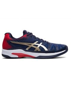 CHAUSSURES HOMME ASICS SOLUTION SPEED FF 1041A003 403 BLEU ROUGE