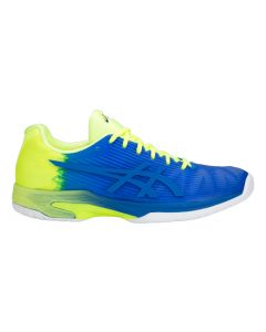 CHAUSSURES ASICS SOLUTION SPEED FF EXCLUSIVE L.E 1041A028 400 BLEU/JAUNE