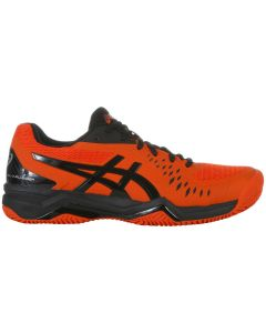 CHAUSSURES DE TENNIS HOMME ASICS GEL CHALLENGER 12 CLAY 1041A048 813 ORANGE