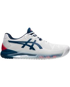 CHAUSSURES HOMME ASICS GEL RESOLUTION 8 1041A079 103 BLANC