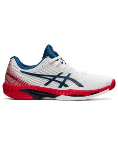 CHAUSSURES HOMME ASICS SOLUTION SPEED FF 2 1041A182 101 BLANC