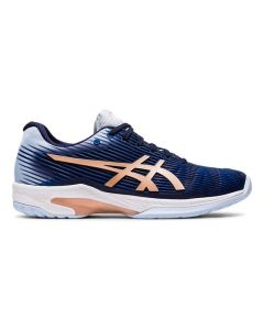 CHAUSSURES DE TENNIS FEMME ASICS SOLUTION SPEED FF 1042A002 413 BLEU
