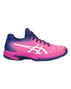CHAUSSURES ASICS FEMME SOLUTION SPEED FF  1042A002 700 ROSE/BLEU