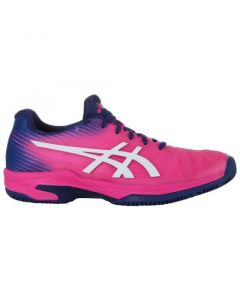 CHAUSSURES FEMME ASICS SOLUTION SPEED FF CLAY 1042A003 700 ROSE