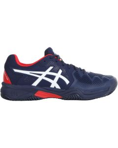 CHAUSSURE TENNIS ASICS JUNIOR GEL RESOLUTION 8 CLAY GS 1044A019 400