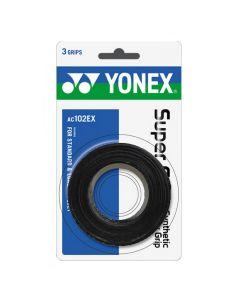 SURGRIP YONEX SUPER GRAP x3 AC102EX NOIR