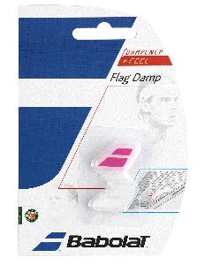 ANTIVIBRATEUR BABOLAT FLAG DAMP 700032 184 ROSE BLANC