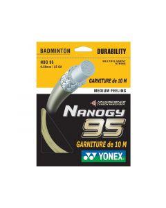 GARNITURE CORDAGE DE BADMINTON YONEX NANOGY 95