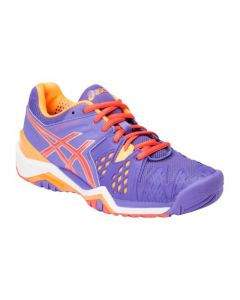 CHAUSSURES ASICS FEMME GEL RESOLUTION 6 E550Y 3306