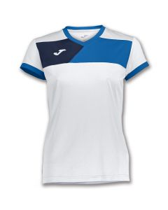 TEE SHIRT FEMME MANCHES COURTES JOMA CREW II 900385 207 BLANC