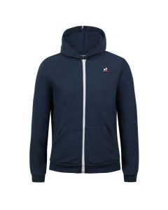 SWEAT ZIPPE A CAPUCHE JUNIOR LE COQ SPORTIF ESSENTIELS N°3 2020568