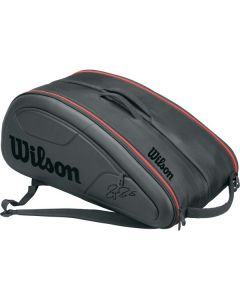 THERMOBAG WILSON FEDERER DNA 12 RAQUETTES WRZ832712 NOIR