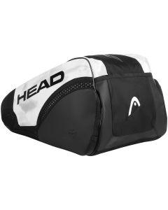 SAC HEAD DJOKOVIC 9R SUPERCOMBI 283101 BLANC NOIR