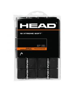 SURGRIP HEAD XTREME SOFT NOIR LOT DE 12 285405