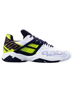 CHAUSSURES DE TENNIS HOMME BABOLAT PROPULSE FURY ALL COURT 2019 30S19208 1021 BLANC/JAUNE