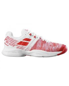 CHAUSSURES FEMME BABOLAT PROPULSE BLAST AC 31F19447 1022 BLANC ROUGE