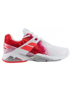 CHAUSSURES FEMME BABOLAT PROPULSE FURY AC 31S17477 184 BLANC ROSE