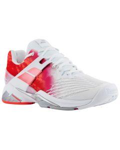 Chaussure de Tennis Femme Babolat Propulse Fury All Court 31S17477 184 Blanc/Rose