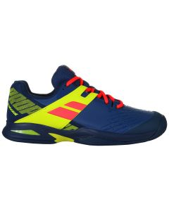 CHAUSSURES DE TENNIS BABOLAT PROPULSE ALL COURT JUNIOR 33S19478 4043 BLEU/JAUNE