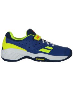 CHAUSSURES JUNIOR BABOLAT PULSION AC KID 32S19518 4043 BLEU JAUNE