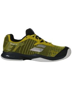 CHAUSSURES DE TENNIS JUNIOR BABOLAT JET ALL COURT 33S19648 7007 JAUNE NOIR