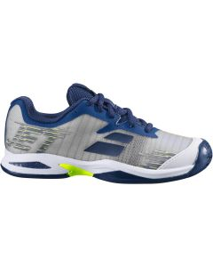 CHAUSSURES JUNIOR BABOLAT JET ALL COURT 38S19648B GRIS BLEU