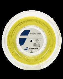 CORDAGE DE TENNIS BABOLAT RPM BLAST ROUGH BOBINE 200M 243136 113 JAUNE