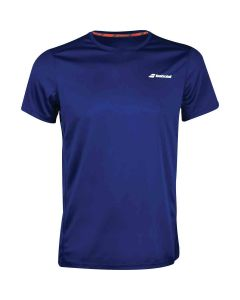 TEE SHIRT BABOLAT HOMME CLUB CORE FLAG MEN 3MS18011 4000 BLEU