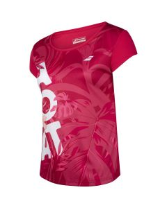 TSHIRT FILLE BABOLAT EXERCISE GRAPHIC 4GTA012 5028 ROSE