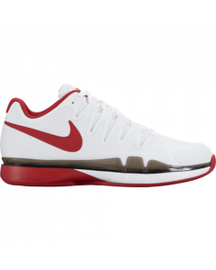 CHAUSSURES DE TENNIS JUNIOR NIKE ZOOM VAPOR 9.5 TOUR CLAY 631457 160 BLANC/ROUGE