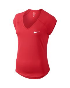 TEE-SHIRT NIKE FEMME PURE PRINTEMPS 2017 728757 653 ROUGE
