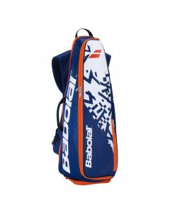 SAC BADMINTON BACKRACQ 8 Navy Blue-White 2019 757004