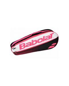 SAC BABOLAT ESSENTIAL CLUB 3 RAQUETTES 751174 156 ROSE