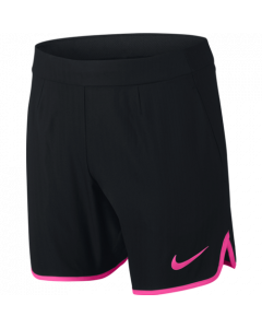 SHORT NIKE JUNIOR GLADIATOR 6'' (15CM) US OPEN 2016 832328 011 NOIR/ROSE
