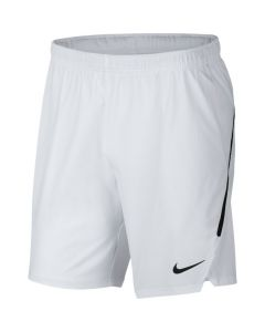 SHORT HOMME NIKE COURT FLEX ACE TENNIS 887515 100 BLANC