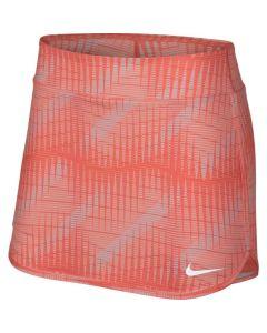 Women's NikeCourt Pure Tennis Skirt 888172 680 ORANGE