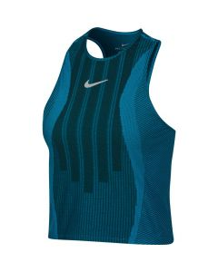DEBARDEUR FEMME NIKE COURT ZONAL COOLING 888184 430 TURQUOISE
