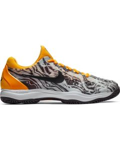 CHAUSSURES DE TENNIS HOMME NIKE AIR ZOOM CAGE 3 HC RAFA 918193 008 GRIS/ORANGE